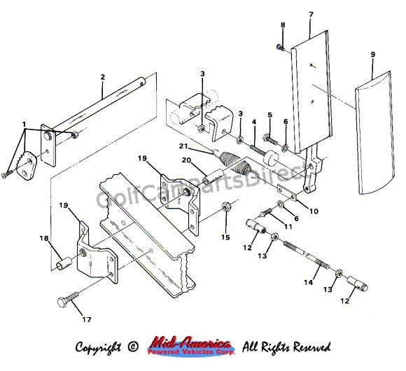 1991 Club Car Wiring Diagram Gas