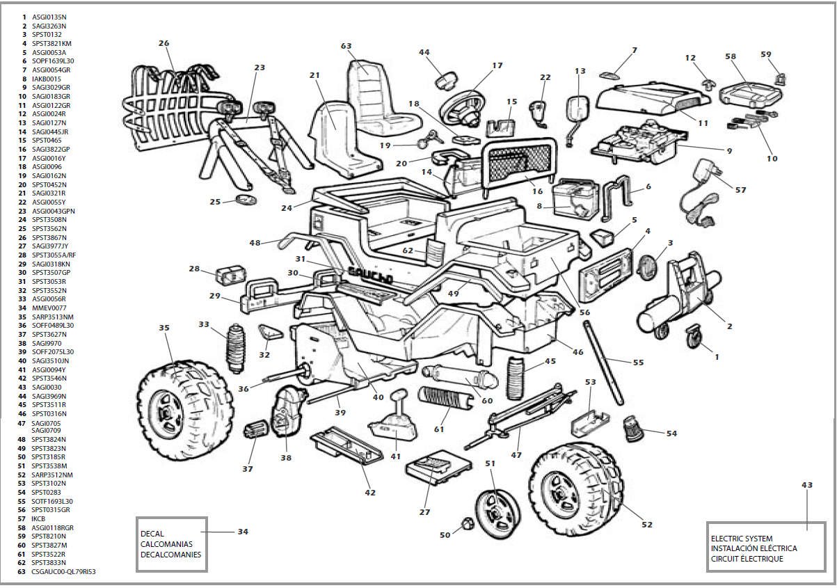 Wiring Diagram: 9 John Deere Gator Parts Diagram
