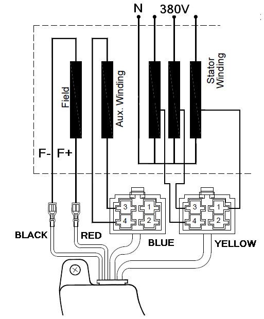 3 Phase Generator Wiring Diagram