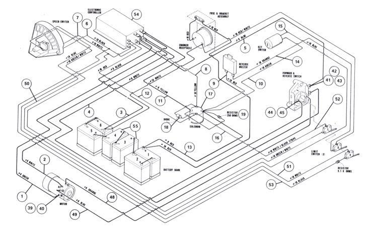 1987 Ez Go Gas Golf Cart Wiring Diagram