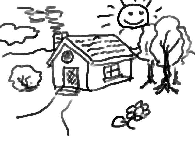 nicu's FOSS'n'stuff: Kindergarden drawing