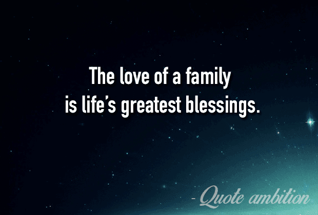 Love And Family Quotes