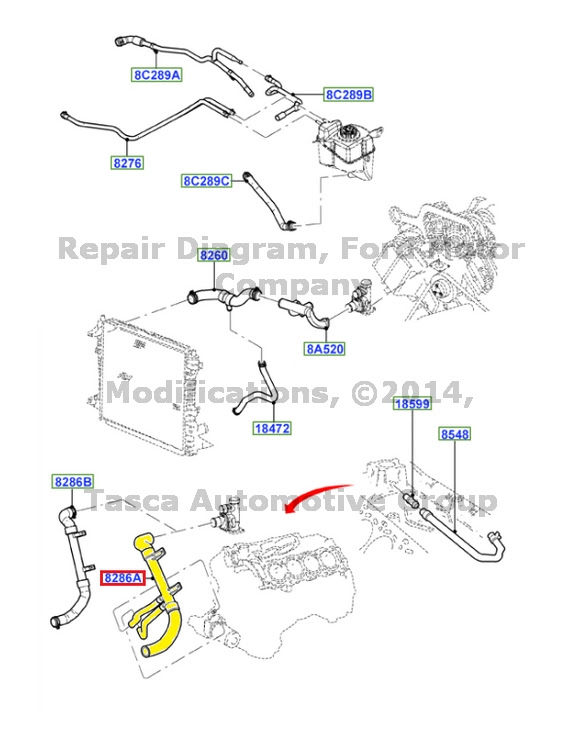 Wiring Diagram Database: 2002 Lincoln Ls Cooling System