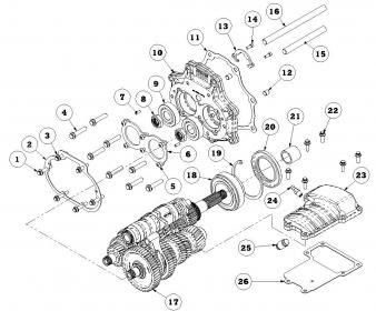 Wiring Diagram: 29 Harley Davidson 4 Speed Transmission