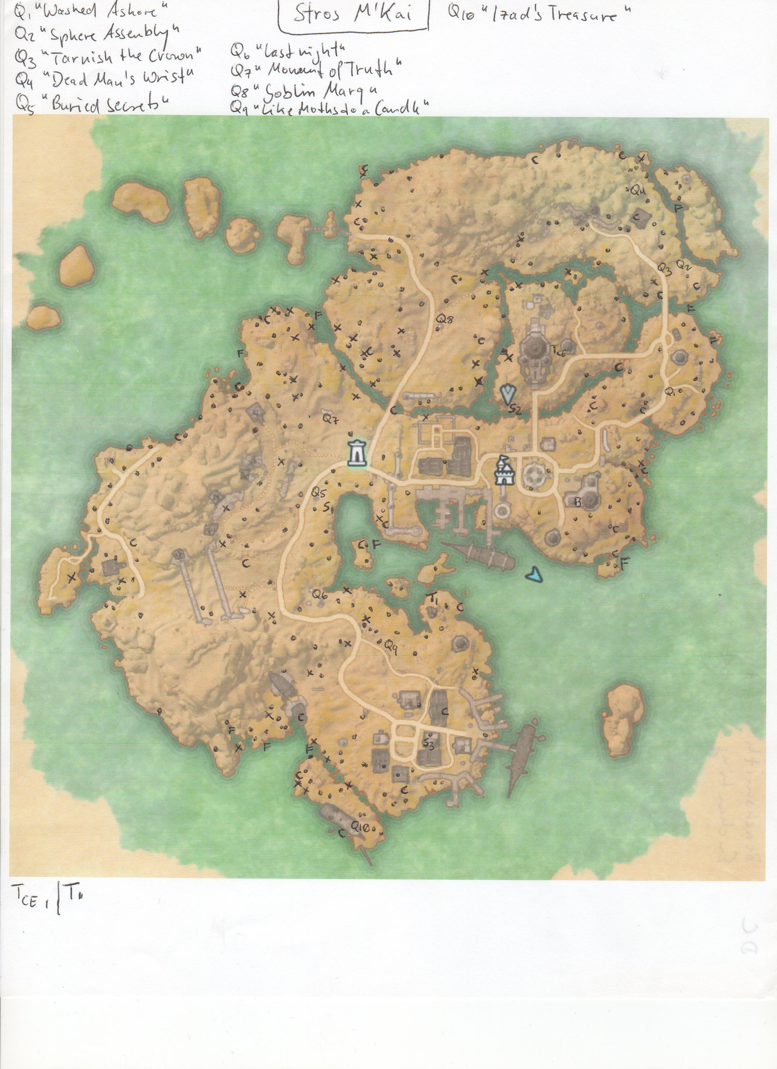Bal Foyen Treasure Map : foyen, treasure, Stros, Treasure, Catalog, Online
