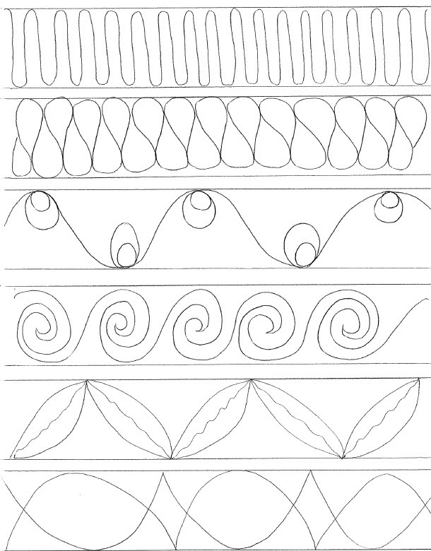 Easy Borders To Draw : borders, Borders, Simple, Border, Designs