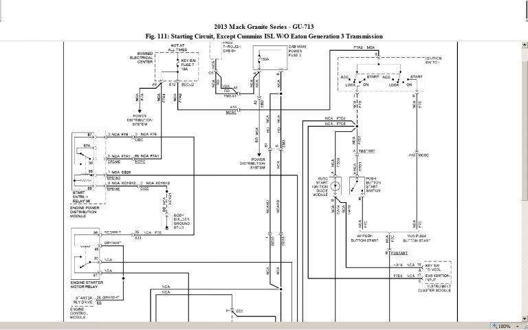 [DIAGRAM] 2009 Mack Fuse Box Diagram Wiring Schematic