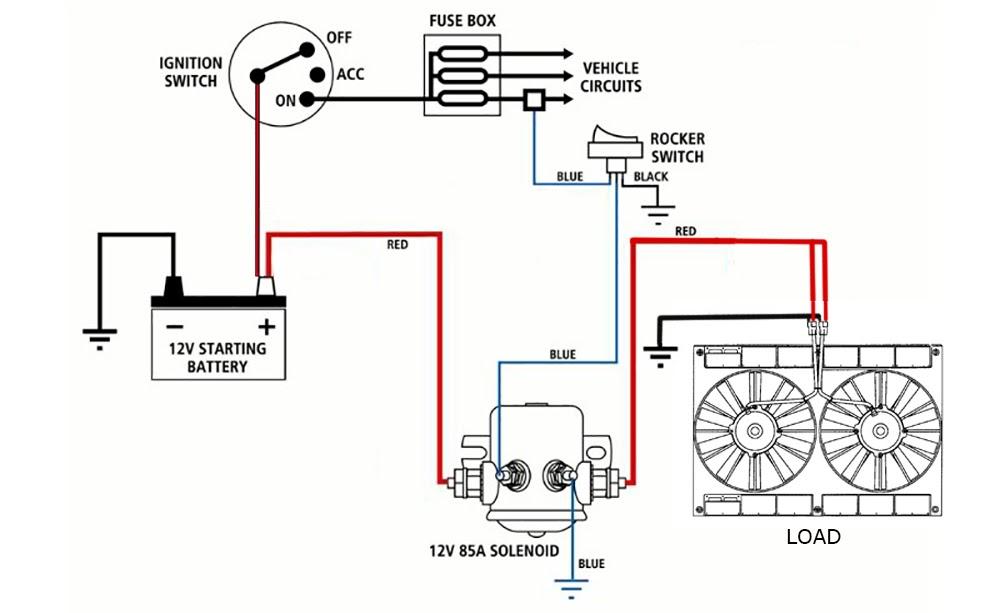 Wiring Diagram: 30 12 Volt Solenoid Wiring Diagram