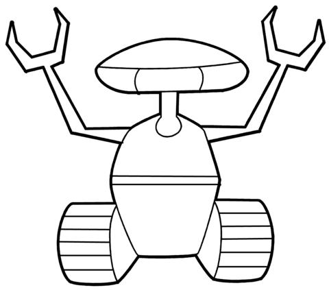 Malvorlagen Roboter Ausmalen