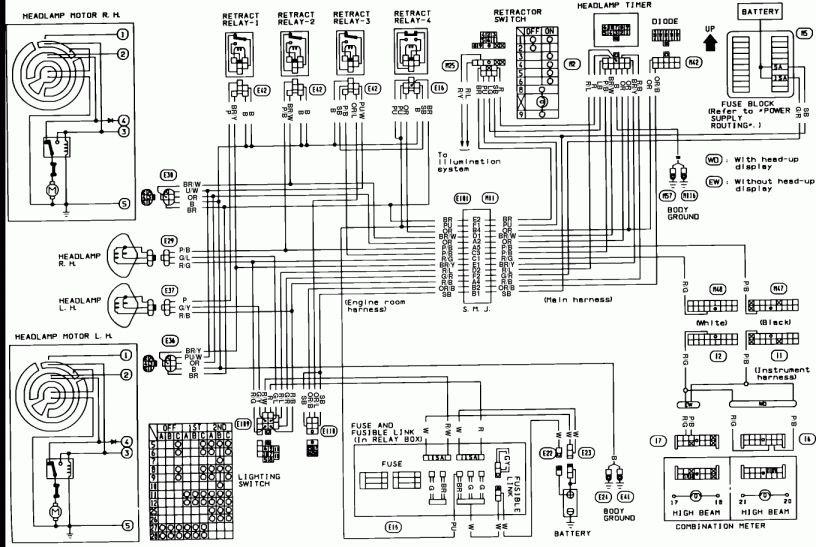 2001 Pontiac Aztek Radio Wiring Harness