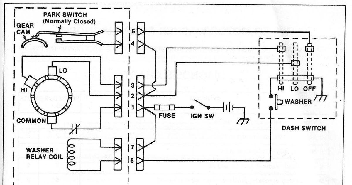 1970 Chevelle Windshield Wiper Motor Wiring Diagram