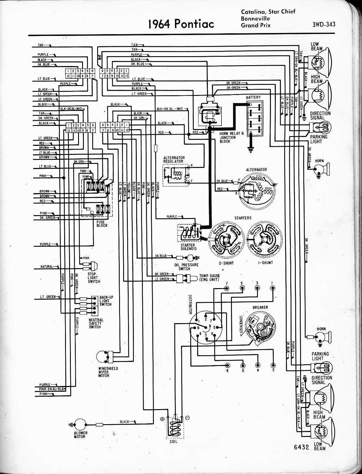 [DIAGRAM DOWNLOAD] 1965 Pontiac Gto Rally Gauge Wiring