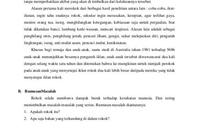 Contoh Karya Ilmiah Tentang Kesehatan Mata Barisan Contoh Cute766