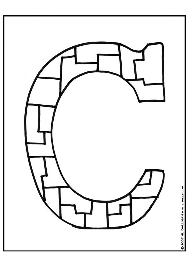 paloreadro: Coloring Pages Letter A