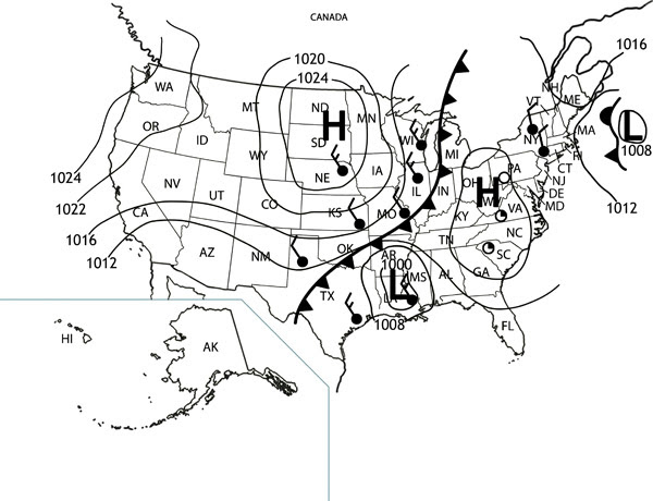 weather worksheet: NEW 979 WEATHER FRONTS UP FRONT