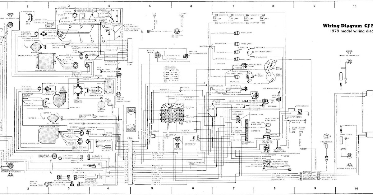 Wiring Diagram: 29 Jeep Yj Wiring Harness Diagram