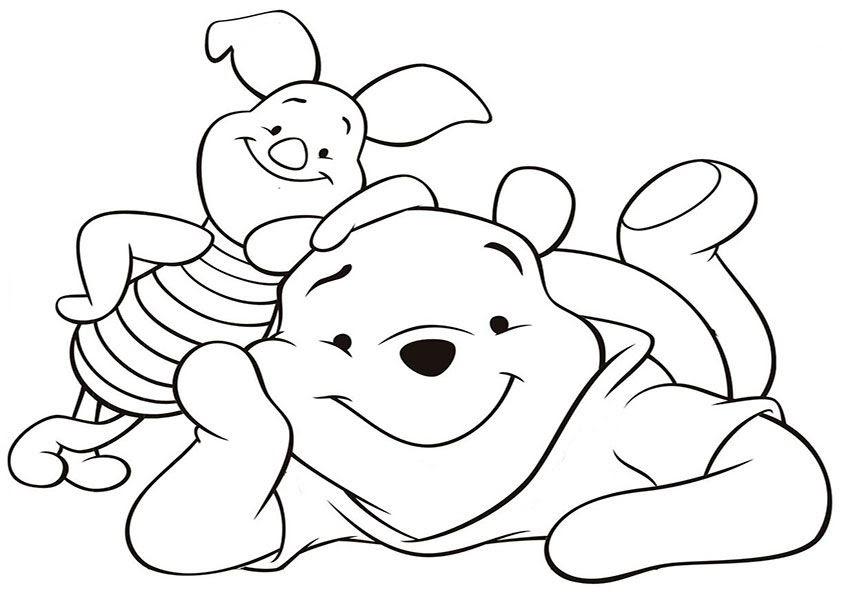 Ia Winnie Pooh Malvorlagen