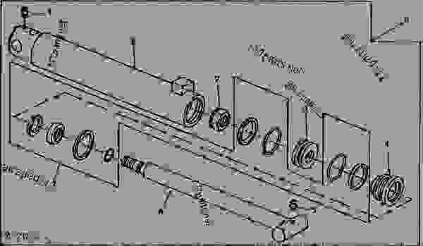 NEW HYDRAULIC CYLINDER REBUILD KITS JOHN DEERE