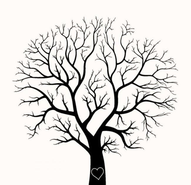 Malvorlage Baum Einfach Aiquruguay