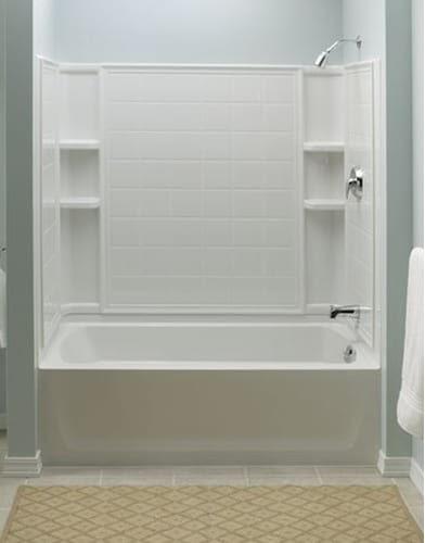 Sterling Ensemble 71120112 60 In X 32 In Bathtub Shower
