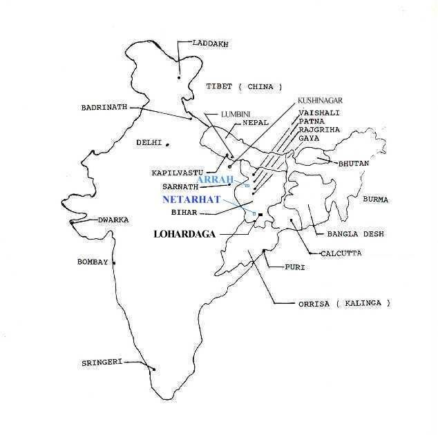 Itihaasas are Not Myths..Read on: Ancient Map of India