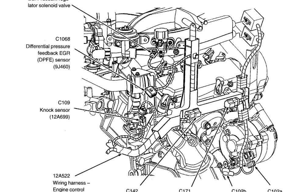 [DIAGRAM] 2004 Ford Escape Service Shop Repair Manual Set