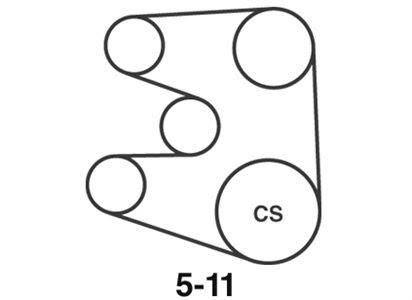 Wiring Diagram Database: 2006 Honda Odyssey Serpentine