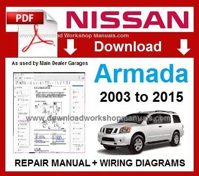 Download Link nissan armada 2007 factory workshop service
