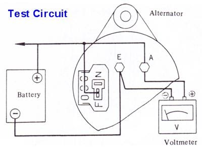 Alternator Regulator Troubleshooting ~ Fast Diagrams