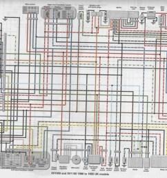 virago wiring diagram [ 1359 x 1047 Pixel ]