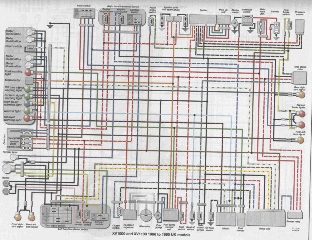 medium resolution of virago wiring diagram