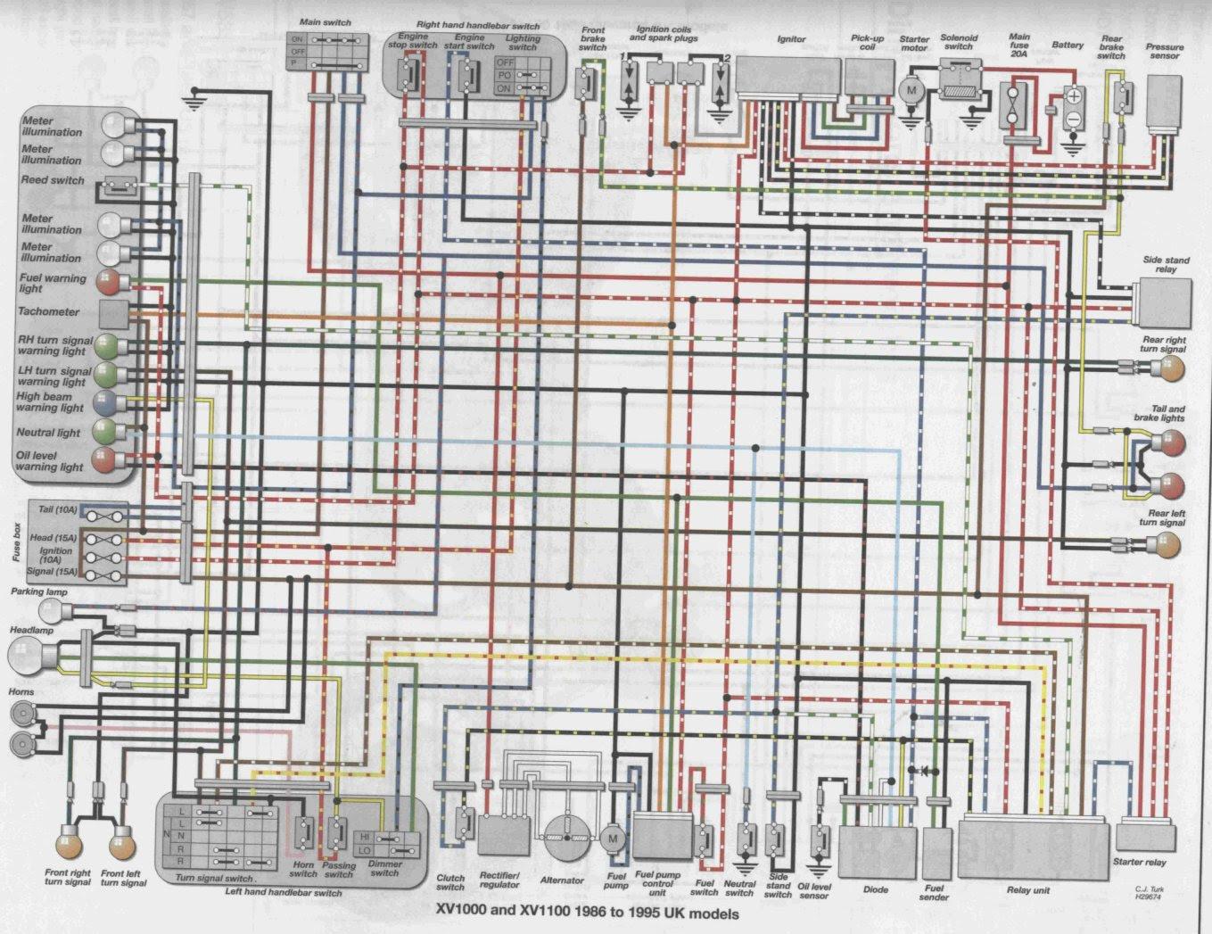 hight resolution of virago wiring diagram