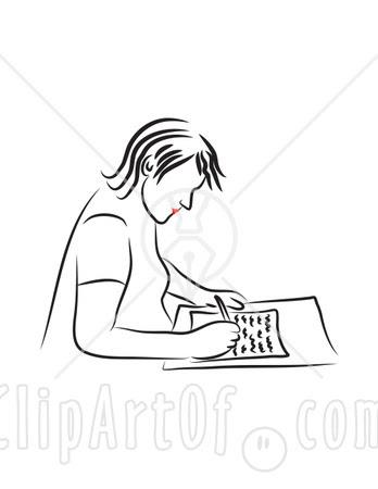webmelasa: Clip Art Writing A Letter