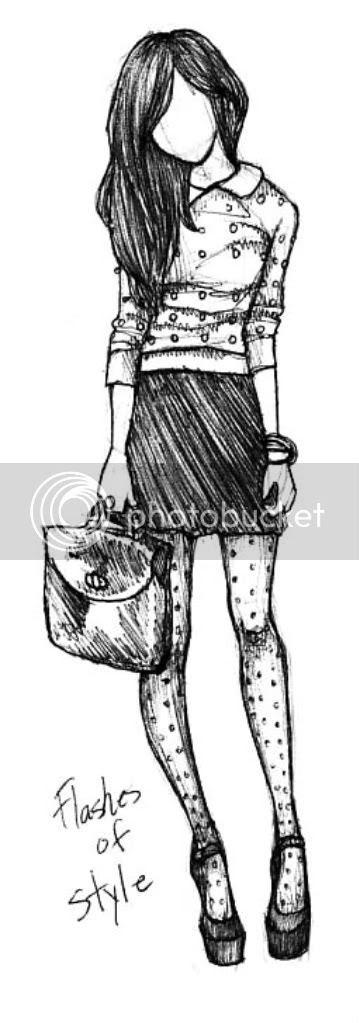 VisualBasic: Blogger Sketch Sunday [Flashes of Style]