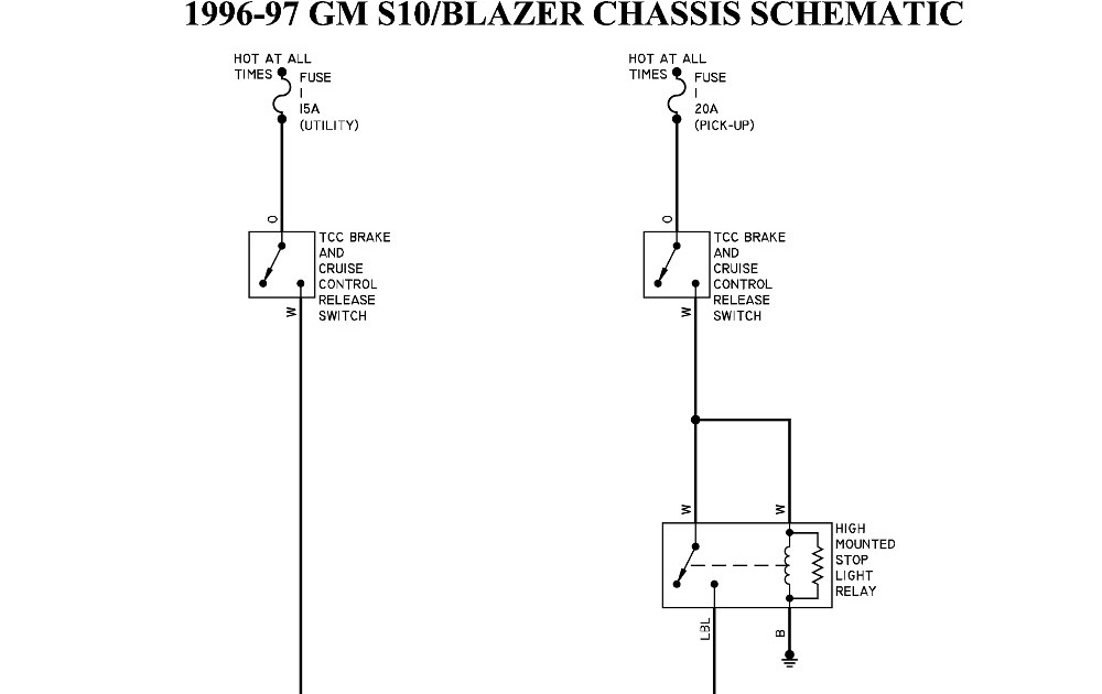 Chevy S10 Wiring Harness Diagram / 2000 Chevy S10 Wiring