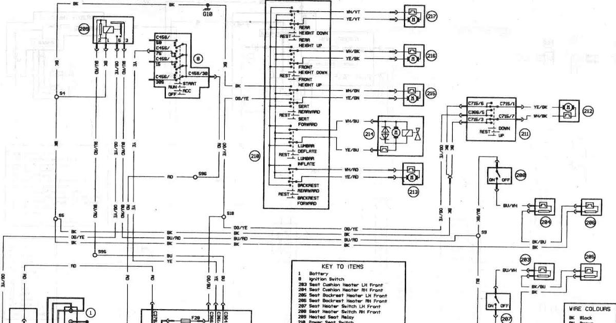 Ford Focus Mk2 Circuit Diagram