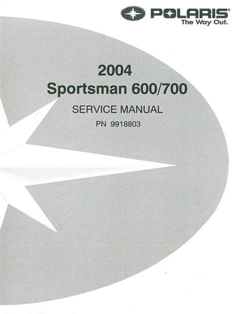 Download Link polaris sportman 600 700 digital workshop