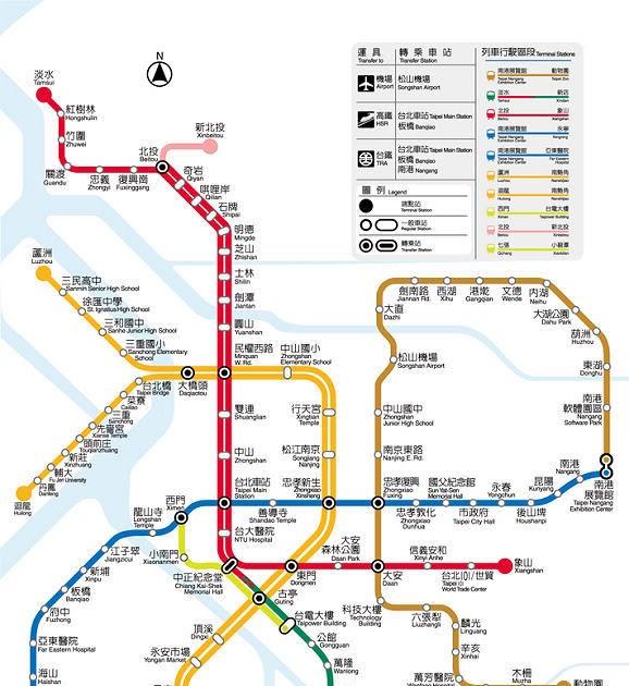 小黃弟的旅遊天地: 如何查詢臺北捷運票價及行車時間