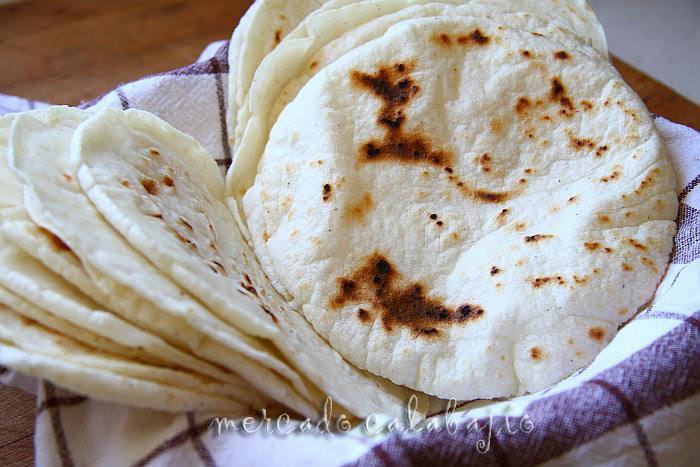 Tortillas mexicanas salen perfectas  Mercado Calabajo