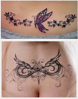 Tatuajes En Espalda Baja Para Mujer Guatelinda