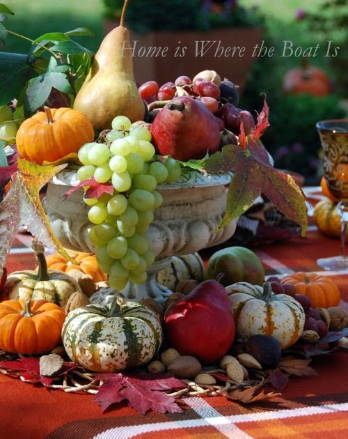 I Adore Outsides Centerpiece for your fall table