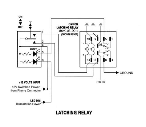 Wiring Manual PDF: 11 Pin Latching Relay Wiring Diagram