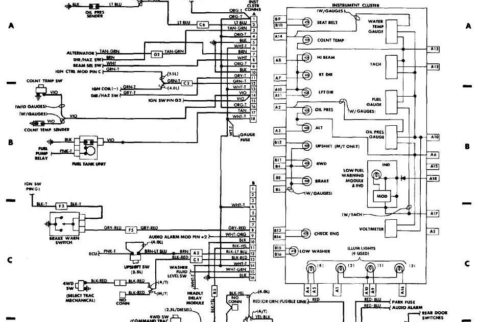 Wiring Diagram Jeep Jk