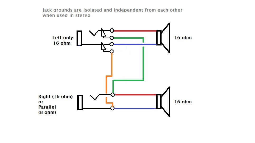 Stereo To Mono Wiring Diagram : Amazon Com Fancasee 2 Pack
