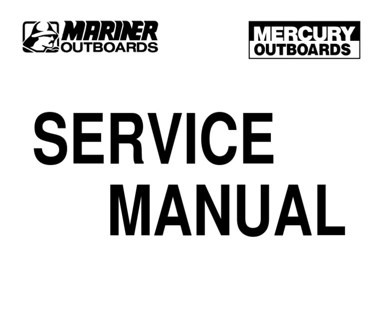 115 Mercury Outboard Wiring Diagram : Mercury Outboard