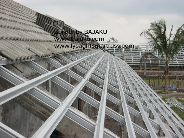 harga atap baja ringan dan genteng beton 37 populer keramik rangka