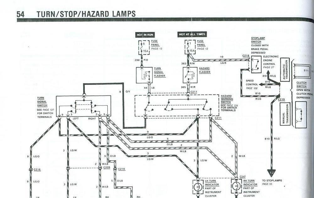 1966 Mustang Flasher Diagram Wiring Schematic