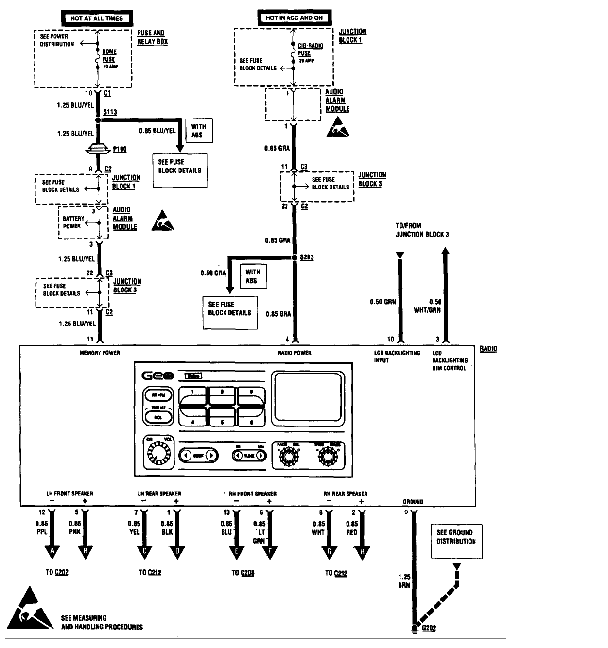 [DIAGRAM] 1990 Geo Tracker Wiring Diagram FULL Version HD