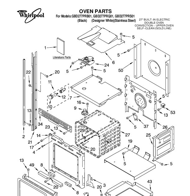 Whirlpool Washing Machine Spare Parts Manual