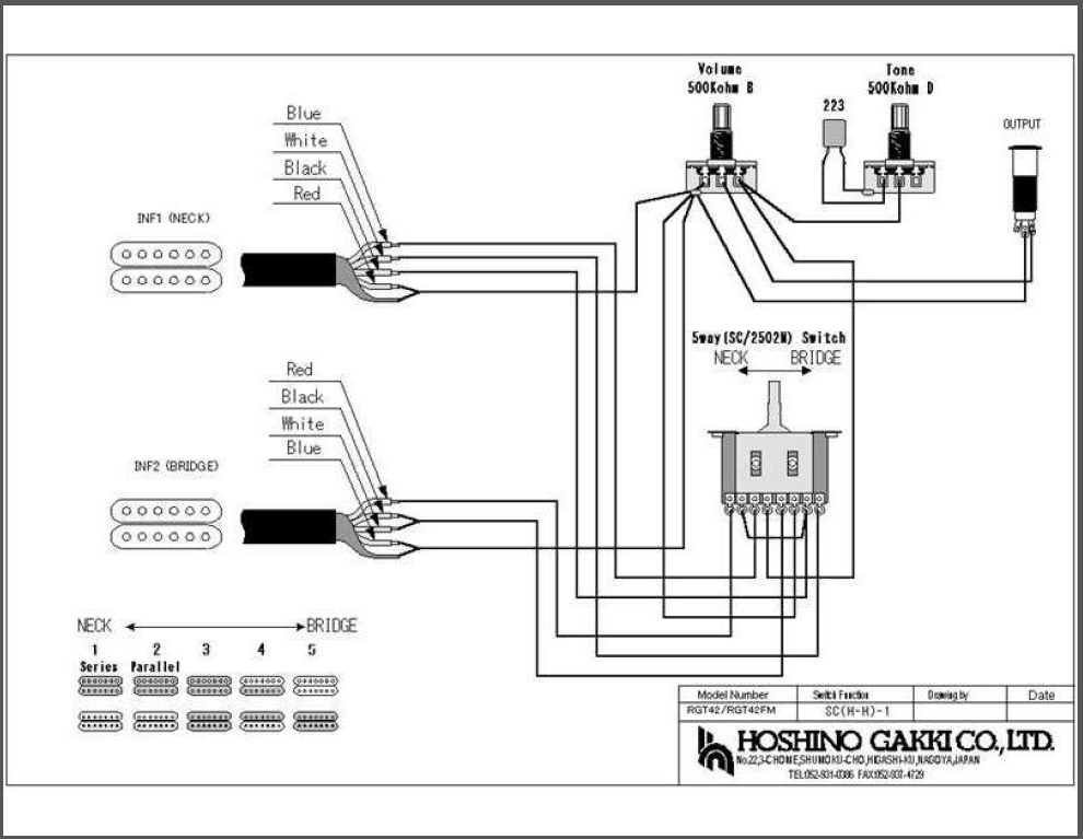 18 Best Guitar Wiring Diagrams